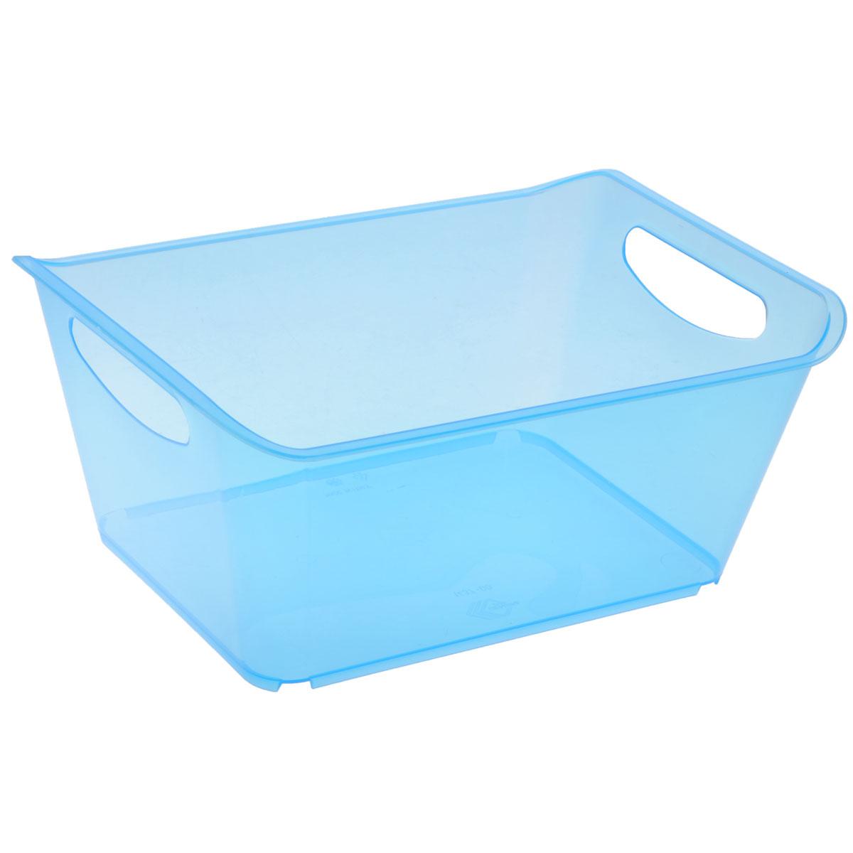 Контейнер Gensini, цвет: голубой, 5 л3331_голубойКонтейнер Gensini выполнен из прочного пластика. Он предназначен для хранения различных мелких вещей в ванной, на кухне, даче или гараже, исключая возможность их потери. По бокам контейнера предусмотрены две удобные ручки для его переноски. Контейнер поможет хранить все в одном месте, а также защитить вещи от пыли, грязи и влаги. Объем: 5 л.