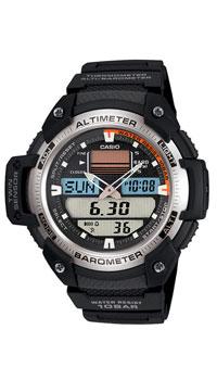 Наручные часы Casio SGW-400H-1BSGW-400H-1BМужские часы Casio SGW-400H для занятий спортом.