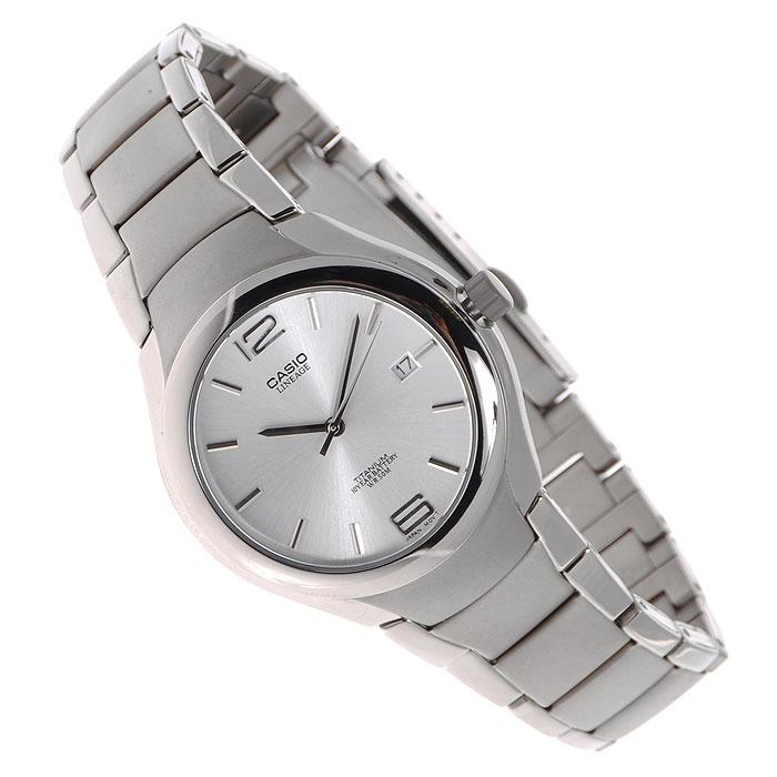 Наручные часы Casio LIN-169-7ALIN-169-7AНаручные часы Casio LIN-169-7A в титановом корпусе. Надежность, стиль и точность - вот о чем скажут они о своем владельце. Отображение даты (число) Задняя крышка с винтовым фиксатором Длительный срок службы батареи - 10 лет Точность хода +/-20 сек в месяц