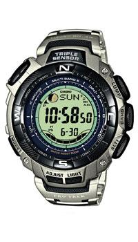 Наручные часы Casio PRW-1500T-7VPRW-1500T-7VМужские наручные часы Casio PRW-1500T-7V специально разработаны для любителей спорта, помимо полного диапазона стандартных функций имеется большое количество водно-спортивных.