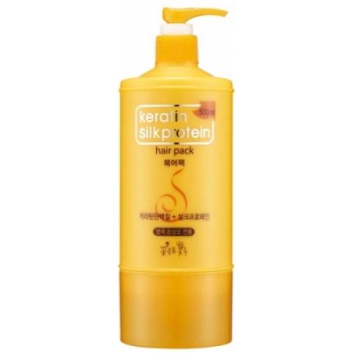 Somang Keratin Маска для волос, 500 мл120687Превосходное средство для ухода за окрашенными волосами. Делает волосы сверкающими и здоровыми. Предаёт живость цветам. Снабжает волосы натуральным белком и разглаживает кутикулу. Содержит масло и экстракты, полученные из цветков и листьев 8 видов растений. Для всех типов волос.
