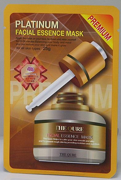 LS Cosmetic Маска для лица Блеск и Гладкость, 25 г