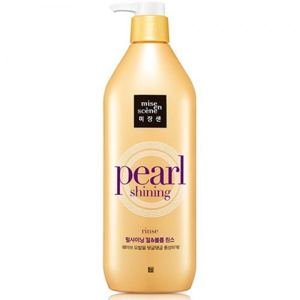 Mise en Scene Кондиционер для волос Pearl Shining для объёма волос, 530 мл705050Жемчужный протеин (гидролизованный белок устрицы) придаст блеск вашим волосам и преобразит поврежденные волосы, наполнив их силой и здоровьем. Антивозрастные компоненты на основе полиненасыщенных жирных кислот Омега-3 и Омега-6 проникают глубоко в клетки эпидермиса и надолго делают волосы здоровыми и гладкими. Для утративших блеск/густых/утративших гладкость волос