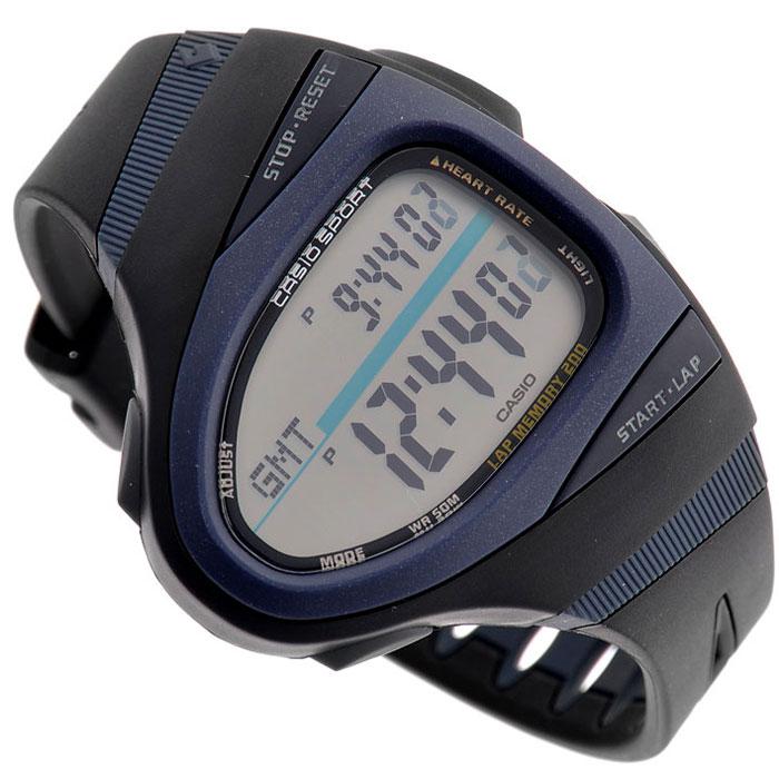 Наручные часы Casio CHR-100-1CHR-100-1Наручные часы Casio CHR-100-1 для занятий спортом. Электролюминесцентная подсветка циферблата с функцией послесвечения Измерение пульса - вокруг грудной клетки закрепляется пояс с кардиопередатчиком, передающим радиосигналом данные на часы, которые отображают информацию о частоте сердечных сокращений на дисплее При достижении предварительно установленной величины пульса часы издают звуковой сигнал Можно просматривать процентное соотношение текущего пульса к максимально установленной величине частоты сердечных сокращений Счетчик израсходованных калорий Мировое время - показания текущего времени в основных городах и часовых поясах мира Секундомер с точностью измерения 1/100 сек, запас измерения 100 часов Память на 200 дистанций, содержащая дату, размер дистанции, секундомер на финишный и промежуточный результат 2 таймера с автоповтором с отсчетом времени от 10 секунд до 100 часов Звуковой сигнал: 3 будильника Автоматический...