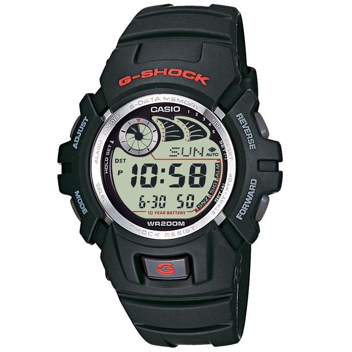 Наручные часы Casio G-2900F-1VG-2900F-1VПротивоударные наручные часы Casio G-2900F.