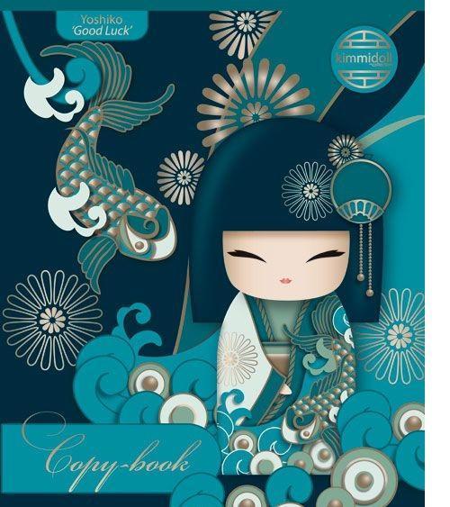 Kimmidoll Тетрадь в клетку, цвет: бирюзовый, 80 листов, формат А5KD5/3Идея Киммидолл - это создание семьи современных кукол Кокеши, каждая из которых олицетворяет одну из истинных ценностей. Бренд основан на производстве удивительных кукол, которые в Японии дарили друг другу в знак Любви или Дружбы. Именно философия дарить удачу и счастье близким людям лежит в основе бренда Киммидолл. Эти удивительные куклы уже покорили сердца в более чем 50 странах мира. Образы Киммидолл объединяет одно желание - сделать так, чтобы в вашей жизни всегда торжествовали доброта, счастье, радость и уважение. Сама кукла и продукты с этим брендом в других категориях очень популярны в странах Северной и Южной Америки, Австралии, Западной Европы. Кимидолл используется также многими известными ювелирами для разработки коллекций. Swarovski выпускала также коллекцию Kimmidoll с использованием своих знаменитых кристаллов. Уважаемые клиенты! Поставка возможна в одном из приведенных вариантов обложки, в зависимости от наличия на складе.