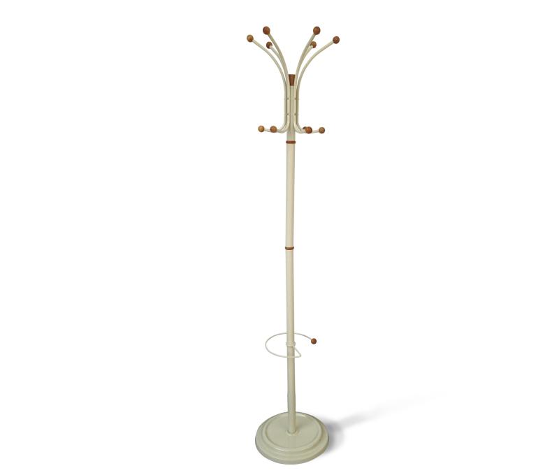 Вешалка напольная «Sheffilton», цвет: слоновая кость, 37 х 37 х 183 см  купить столик журнальный круглый в спб