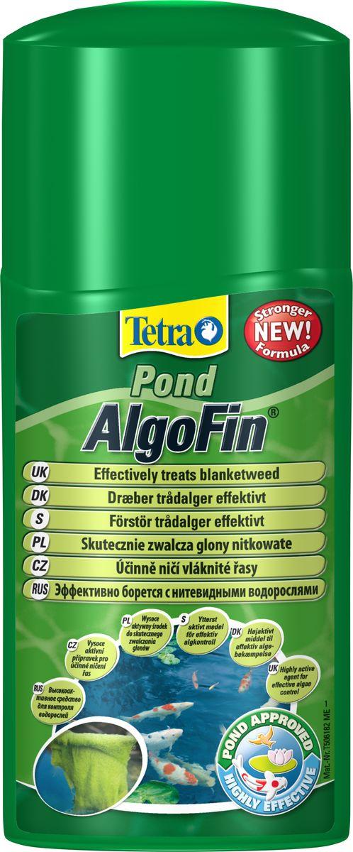 Средство Tetra Pond AlgoFin против нитчатых водорослей в пруду, 250 мл124363Tetra Pond AlgoFin - продукт, предназначенный для устранения нитчатых водорослей. Активно борется с нитевидными сине-зелеными водорослями, уничтожает все виды водорослей в пруду. Действие средства основано на блокировании метаболизма водорослей и их фотосинтеза. Активное вещество препарата действует 2-3 недели, предотвращая тем самым рост водорослей. Использование средства безопасно для полезной микрофлоры водной среды, не вредит растениям и рыбам. Условия хранения: от +5 С° до + 25 С°. Товар сертифицирован.