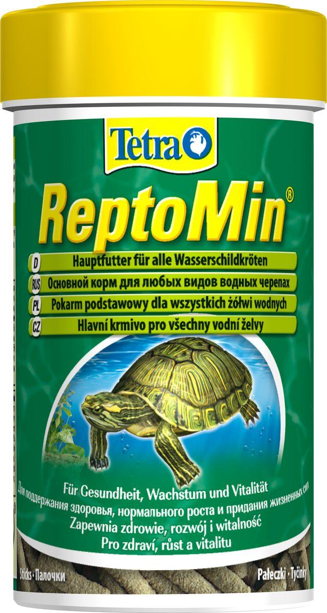 Корм сухой Tetra ReptoMin для водных черепах, в виде палочек, 100 мл139862Здоровый полноценный корм для черепах. Полноценный здоровый корм для террариумных рептилий с большим количеством легкоусваиваемых белков. Корм TetraReptoMin содержит все необходимые питательные вещества, витамины и микроэлементы, а также минеральные вещества (для укрепления панциря и костей) и белки (для развития мускулатуры). Tetra ReptoMin имеет превосходный вкус и хорошо воспринимается животными. Уникальные технологии, разработанные фирмой Tetra, а также постоянно проводимые тесты качества, позволили создать экологически чистый продукт для здорового и разнообразного питания террариумных животных.