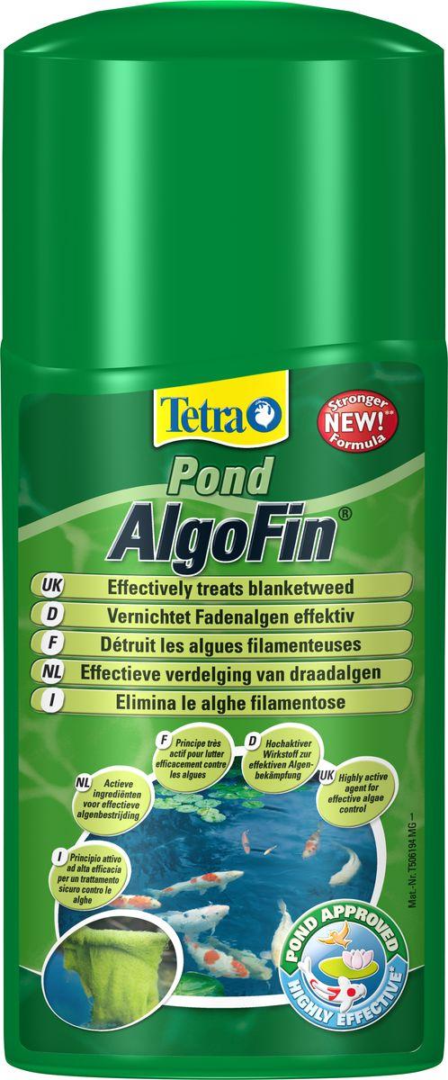 Средство Tetra Pond AlgoFin против нитчатых водорослей в пруду, 1 л154469Tetra Pond AlgoFin – продукт, предназначенный для устранения нитчатых водорослей. Активно борется с нитевидными сине-зелеными водорослями, уничтожает все виды водорослей в пруду. Действие средства основано на блокировании метаболизма водорослей и их фотосинтеза. Активное вещество препарата действует 2-3 недели, предотвращая тем самым рост водорослей. Использование средства безопасно для полезной микрофлоры водной среды, не вредит растениям и рыбам. Условия хранения: от +5 С° до + 25 С°. Товар сертифицирован.
