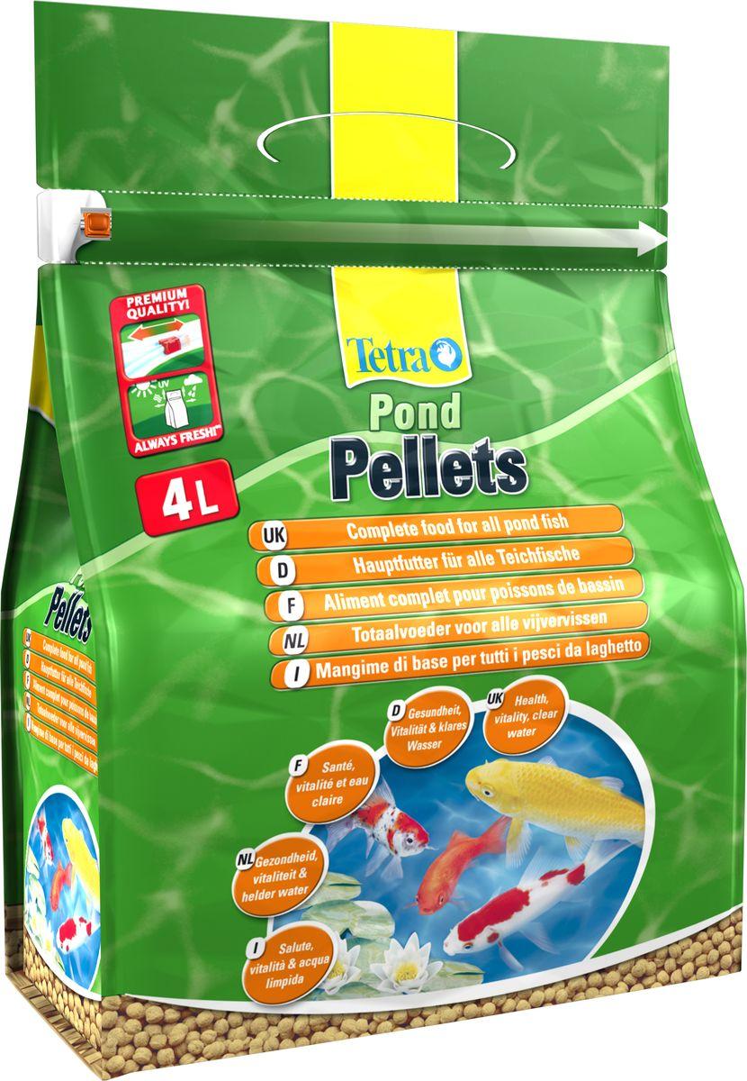 Корм для прудовых рыб Tetra Floating Pellets М в шариках, 4 л169845Floating Pellets medium - корм для прудовых рыб шарики средние (3-4мм). Биологически сбалансированный корм для прудовых рыб - средние плавающие шарики. Подходящая форма и хорошая усвояемость корма гарантируют оптимальное питание и сохранение качества воды. Товар сертифицирован.
