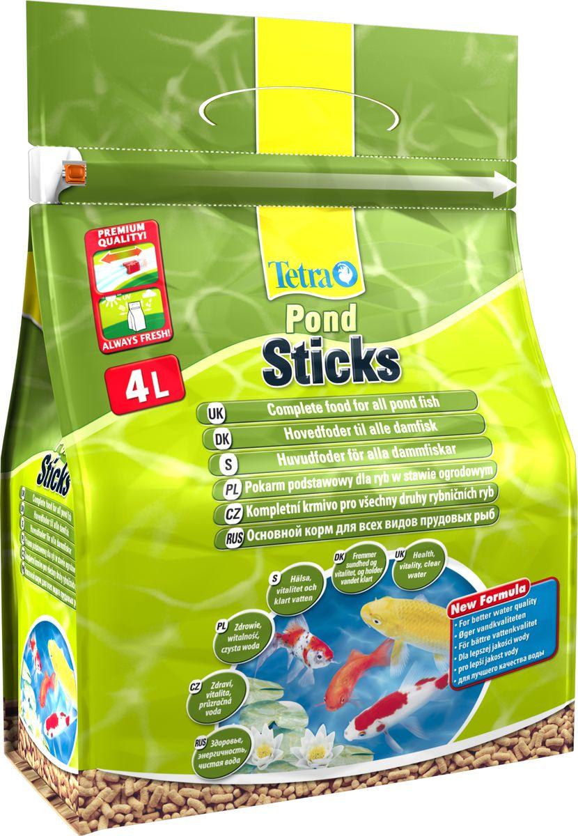 Корм сухой Tetra Pond. Sticks для прудовых рыб, палочки, 4 л (450 г)170063Tetra Pond. Sticks - это основной корм для рыб, в виде плавающих на поверхности воды палочек, который содержит все необходимые питательные вещества, клетчатку, минералы, микроэлементы и витамины для полноценного и биологически сбалансированного питания. Запатентованная BioActive формула обеспечивает высокую устойчивость к заболеваниям, придает энергию и жизнеспособность. Особенности Tetra Pond. Sticks: - Уникальная рецептура и качество сырья предотвращают симптомы недостаточности связанные с питанием, - Легко усваиваемый корм благодаря высокой биологической ценности питательных веществ, - Высокая устойчивость к заболеваниям благодаря оптимизированной питательной формуле, - Улучшение качества воды за счет уменьшения количества добавленных фосфатов на 25 %, - Идеально подходит для ежедневного питания прудовых рыб. Рекомендации по кормлению: кормить не менее 2-3 раз в день в таком количестве, которое рыбы могут съесть в...