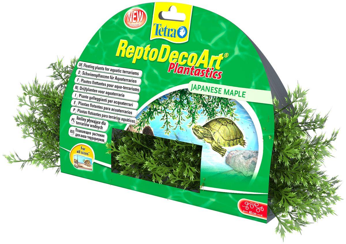 Искусственное плавающее растение для террариума Tetra Японский клен203556Это растение хорошо подойдет для оформления аква-террариума. Естественно выглядящее искусственное растение; Легко и быстро устанавливается; Не требует ухода. Размер растения: 40 см.