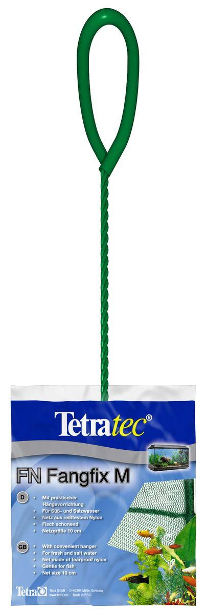 Сачок для аквариума Tetra FN M, 10 см724457Сачок Tetra предназначен для легкого извлечения рыб из аквариума. Специально покрытые пластиком черпак и ручка не ранят рыб. Сачок устойчив к коррозии, что обеспечивает долгую эксплуатацию. Прочная на разрыв сетка изготовлена из 100% нейлона. Ручка снабжена специальным крючком для подвешивания. Диаметр: 10 см.
