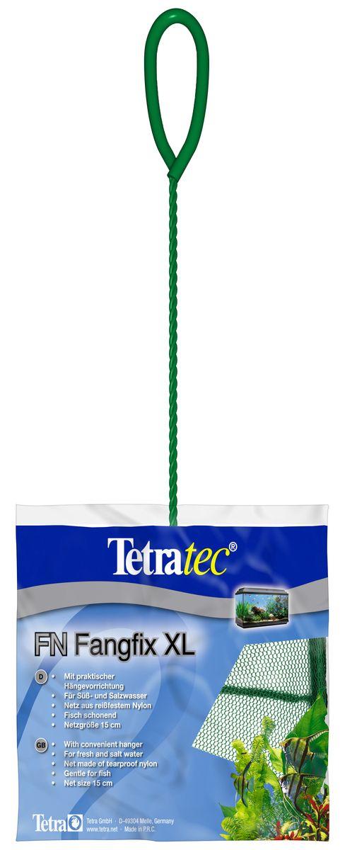 Сачок для аквариума Tetra FN XL, 15 см724471Сачок Tetra предназначен для легкого извлечения рыб из аквариума. Специально покрытые пластиком черпак и ручка не ранят рыб. Сачок устойчив к коррозии, что обеспечивает долгую эксплуатацию. Прочная на разрыв сетка изготовлена из 100% нейлона. Ручка снабжена специальным крючком для подвешивания. Диаметр: 15 см.