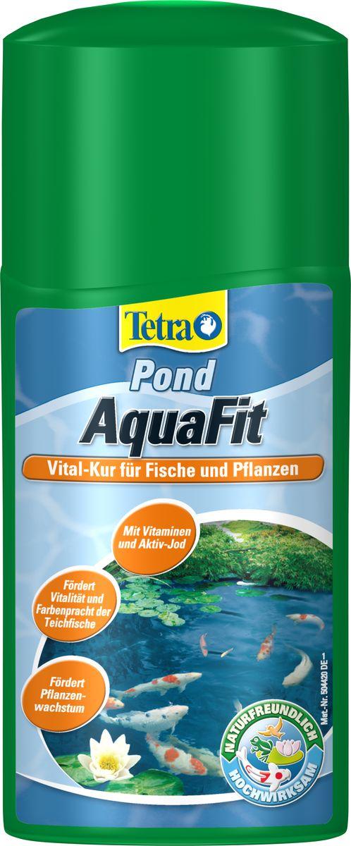 Средство для создания естественных условий в пруду Tetra Pond AquaFit, 250 мл746831Tetra Pond AquaFit - средство для создания естественных условий в пруду. Препарат, предназначенный для оживления прудовой воды, создающий естественные условия обитания для всех прудовых рыб. с витаминами группы В и активным йодом; улучшает самочувствие рыб и делает их менее восприимчивыми к заболеваниям; поддерживает жизненную активность рыб и улучшает яркость их естественной окраски; стимулирует метаболизм и улучшает рост растений; усиливает рост фильтрующих бактерий, улучшая качество воды; эффективное действие с препаратом Tetra Pond AquaSafe; легко дозировать благодаря мерному колпачку. Товар сертифицирован.