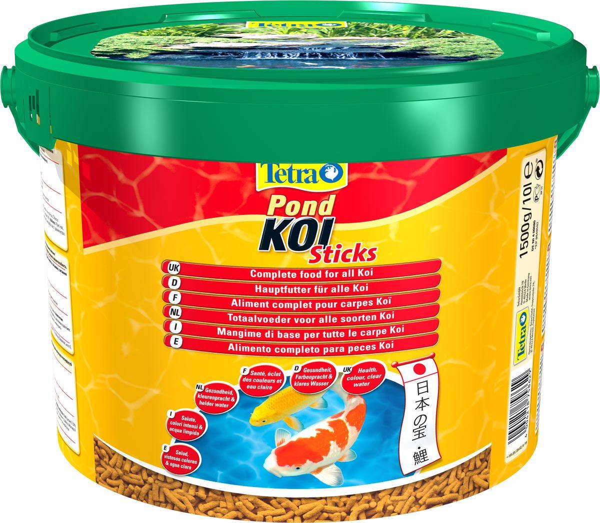 Корм сухой TetraPond Koi Sticks для всех видов рыб Кои, в виде палочек, 1,5 кг758629Корм премиум класса TetraPond Koi Sticks выполнен в виде палочек и предназначен для карпов Кои. Корм содержит все питательные вещества, витамины и микроэлементы, необходимые для предотвращения симптомов недостаточности, связанных с питанием. Высокое содержание белка, ненасыщенных жирных кислот обеспечивают жизненную активность и увеличение массы рыб. Благодаря натуральным усилителям цвета увеличивается интенсивность проявления окраса. Идеален в создании необходимых запасов для быстрого пробуждения рыб весной. Состав: растительные продукты, зерновые культуры, экстракты растительного белка, рыба и побочные рыбные продукты, минеральные вещества, масла и жиры, дрожжи. Аналитические компоненты: сырой белок 31%, сырые масла и жиры 5%, сырая клетчатка 2%, содержание влаги 7% Добавки: витамины, провитамины и химические вещества с аналогичным воздействием: витамин А - 28800 МЕ/кг, витамин Д3 - 1800 МЕ/кг. Вес упаковки: 1,5 кг. Товар...
