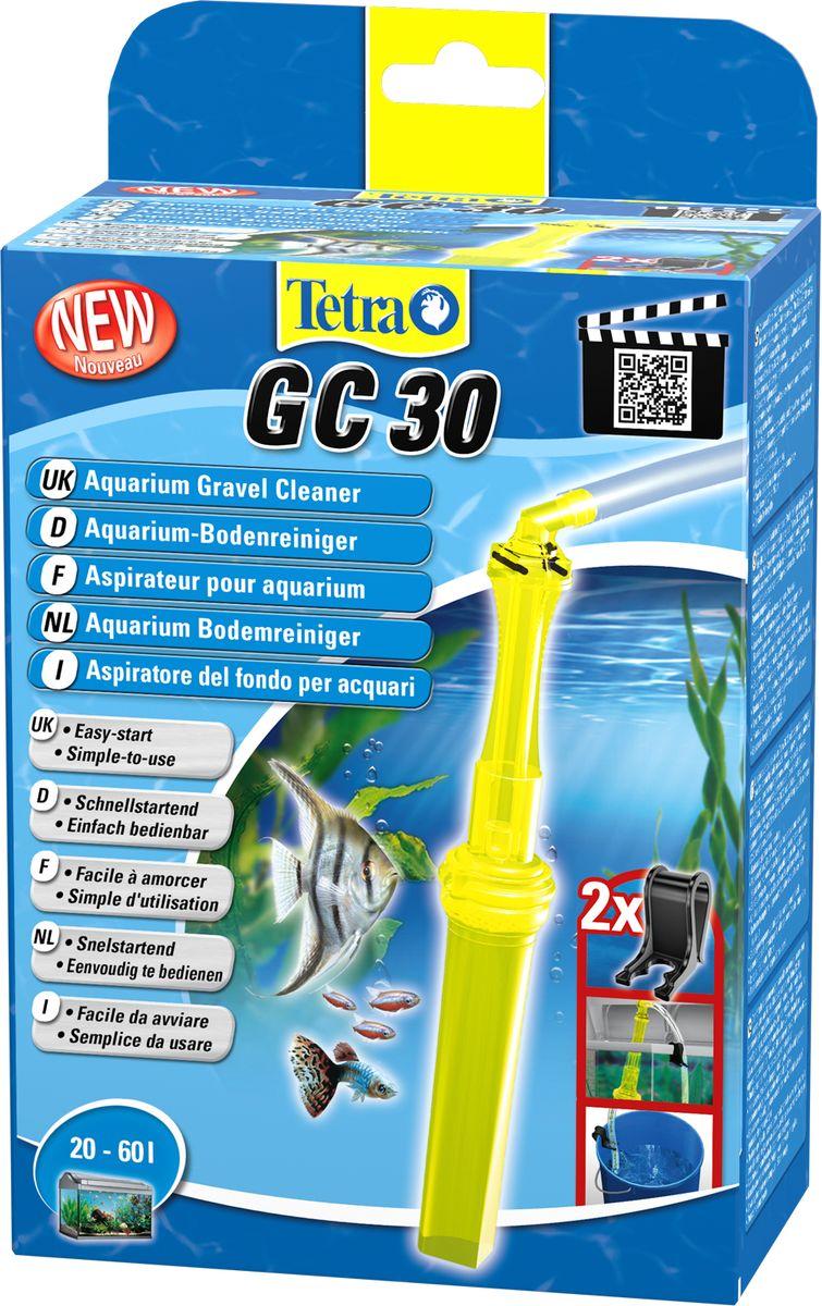 Грунтоочиститель для аквариумов Tetra GC 30 малый, 20-60 л762312Удобный, простой в использовании сифон для грунта. В комплект входит шланг длиной 180 см и две фиксирующие клипсы; Мощный клапан закачки воды; Защитная сетка позволяет избежать засасывания рыб и грунта; Новая поворотная ручка позволяет использовать сифон без перекручивания шланга; Конструкция наконечника позволяет очистку всех труднодоступных углов аквариума, в том числе, возле стекла; Удобная ручка для безопасного использования; Долгая эксплуатация. Гарантия 2 года.