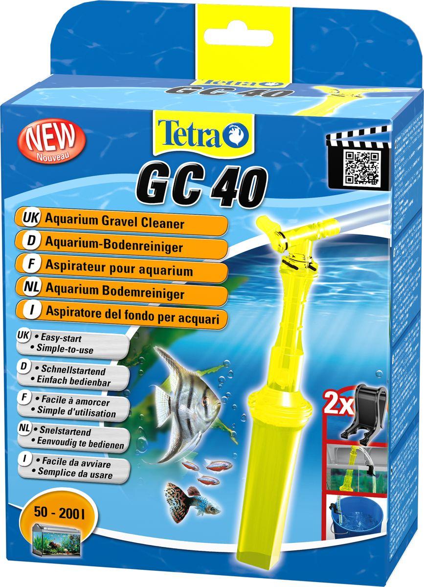 Грунтоочиститель для аквариумов Tetra GC 40 средний, 50-200 л762329Удобный, простой в использовании сифон для грунта. В комплект входит шланг длиной 180 см и две фиксирующие клипсы; Мощный клапан закачки воды; Защитная сетка позволяет избежать засасывания рыб и грунта; Новая поворотная ручка позволяет использовать сифон без перекручивания шланга; Конструкция наконечника позволяет очистку всех труднодоступных углов аквариума, в том числе, возле стекла; Удобная ручка для безопасного использования; Долгая эксплуатация. Гарантия 2 года.