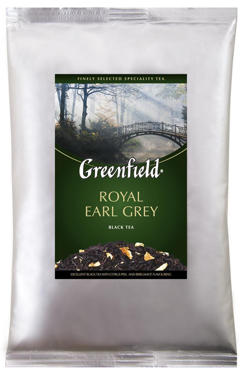 Greenfield Royal Earl Grey черный листовой чай, 250 г0975-15Благородный, глубокий и насыщенный букет Greenfield Royal Earl Grey раскрывается волнующей ароматной волной, в которой причудливо переплетаются пряные ноты изысканного цейлонского чая, строгий классический аромат бергамота и тонкие оттенки цитрусовых.