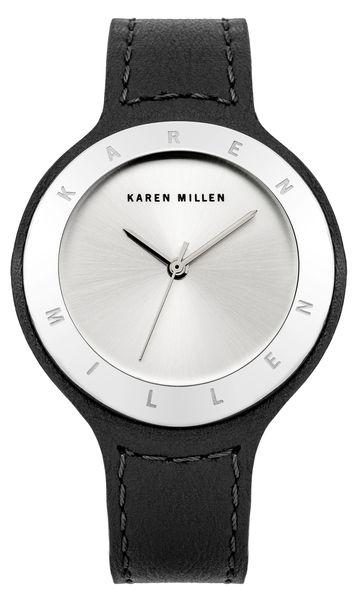 Часы наручные женские Karen Millen, цвет: стальной, черный. KM134BSKM134BSЭлегантные женские часы Karen Millen изготовлены из нержавеющей стали с IP-покрытием, натуральной кожи и минерального стекла. Циферблат и корпус часов оформлены символикой бренда. Корпус изделия оснащен кварцевым механизмом, который имеет степень влагозащиты равную 5 Bar, а также дополнен устойчивым к царапинам минеральным стеклом. Ремешок оснащен классической пряжкой, которая позволит с легкостью снимать и надевать изделие. Часы поставляются в фирменной упаковке. Часы Karen Millen подчеркнут изящность женской руки и отменное чувство стиля у их обладательницы.