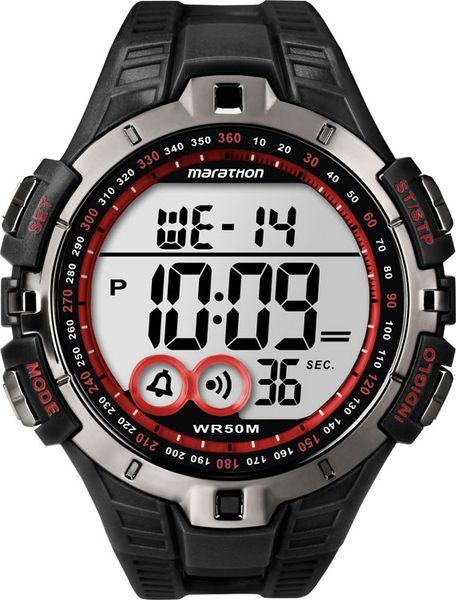 Часы наручные мужские Timex T5K423, цвет: серебристый, белыйT5K423Мехнизм кварцевый, корпус: пластик, 46 мм, стекло акриловое, ремешок: силикон, доп. функции: подсветка INDIGLO, будильник, 100 часовой хронограф, 24 часовой таймер, дата, 2 часовых пояса, водозащита: 5 АТМ