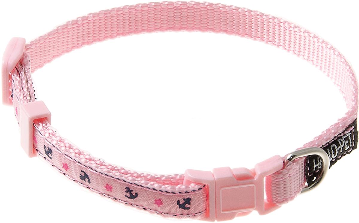 Ошейник для собак Hello Pet Морской, цвет: розовый, 10 мм, 23-35 см70-2817Ошейник для собак Hello Pet Морской изготовлен из прочных материалов и легко регулируется. Оснащен пластиковой застежкой (фастекс), которая обеспечивает безопасность вашего питомца - в случае резкого рывка ошейник не раскроется.