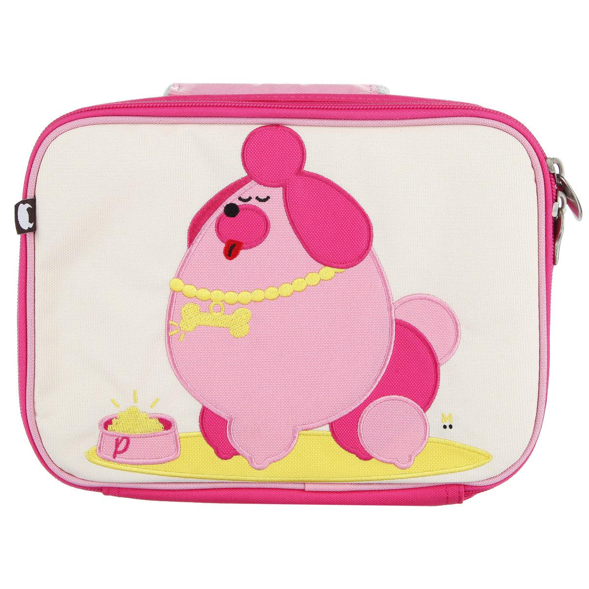 Ланч-Бокс Pocchari - Poodle, цвет: розовый, бежевый