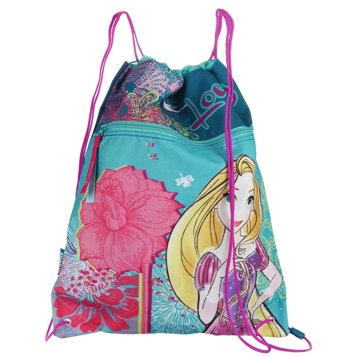 Disney Princess Сумка-рюкзак для обуви Princess цвет голубой PRCB-RT2-880