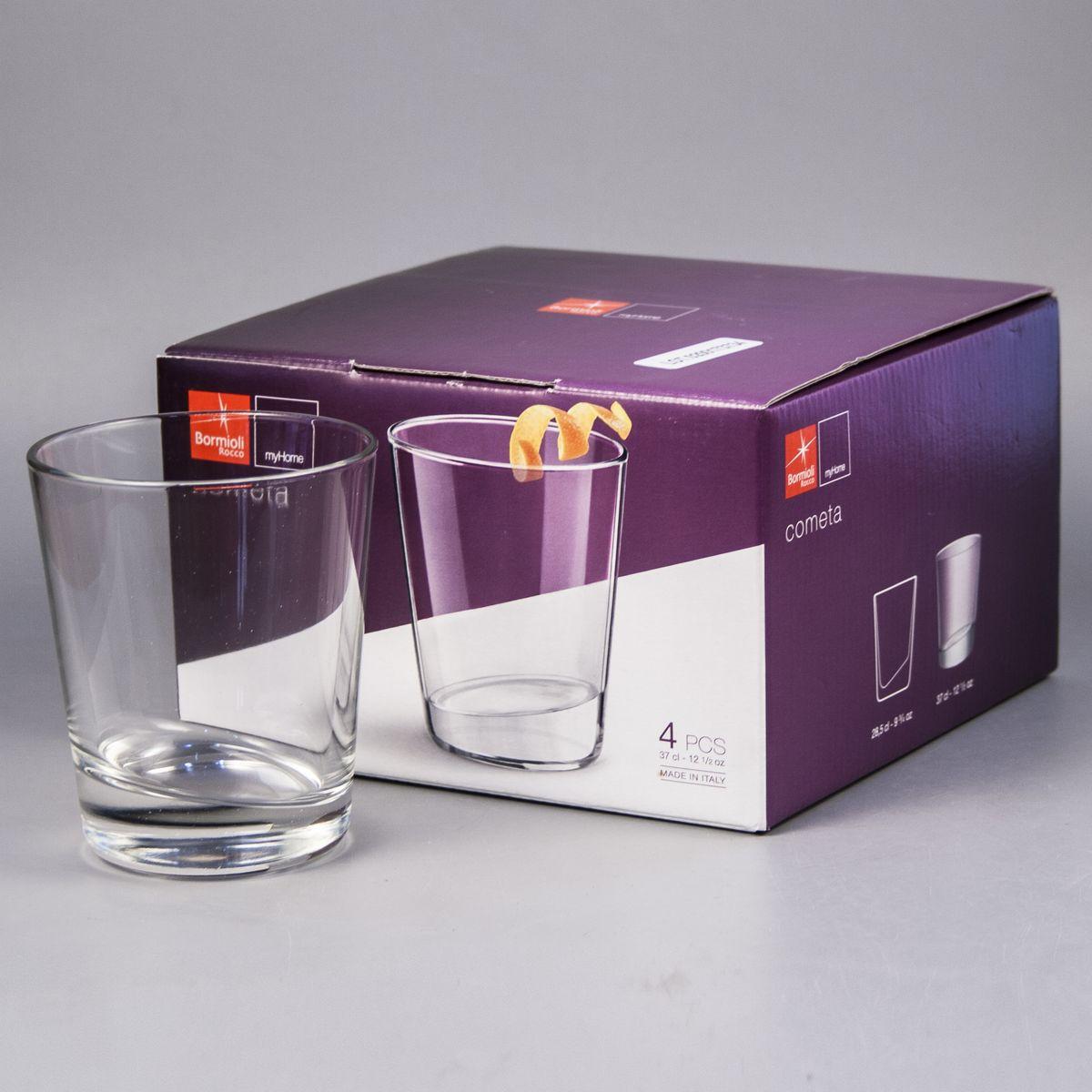 Ит 235120G10021990 Набор стаканов 4шт. Cometa, стакан 370мл, п/у235120G10021990Ит 235120G10021990 Набор стаканов 4шт. Cometa, стакан 370мл, п/у