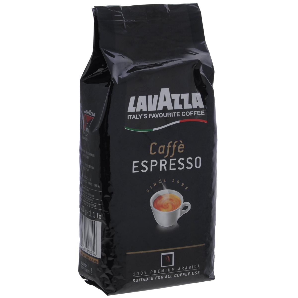 Lavazza Caffe Espresso кофе в зернах, 500 г1875Любите крепкий,насыщенный кофе? Присмотритесь к отличному купажу Lavazza Caffe Espresso изготовлен из стопроцентной арабики высшего сорта, завезенной из Центральной Америки и Африки, которые придают этому кофе незабываемый вкус и тонкий аромат. Lavazza Espresso- для истинных любителей и знатоков настоящего кофе!