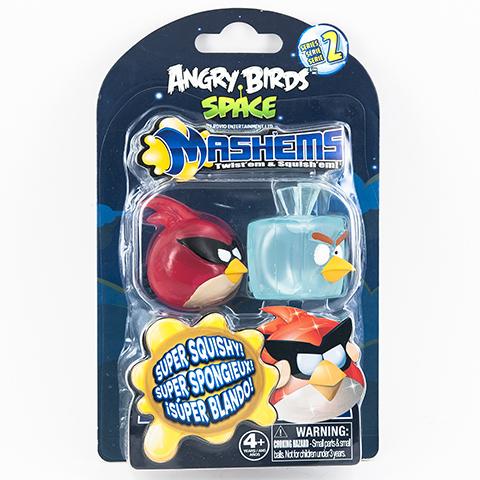 Птичка-мялка Angry Birds, 2 шт50282-0000012-02Птички-мялки в стиле Angry Birds.Птичек можно как угодно мять, они потом возвращаются в свою прежнюю форму.Сделаны из приятного на ощупь материала.Внутри игрушки есть жидкий наполнитель.