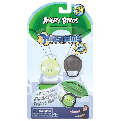Птичка-мялка Angry Birds с парашютом50331-0000012-04Птичка-мялка в стиле Angry Birds.Птичку можно как угодно мять, она потом возвращается в свою прежнюю форму.Сделана из приятного на ощупь материала.Внутри игрушки есть жидкий наполнитель.