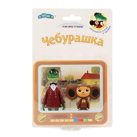 Фигурки Крокодил Гена и ЧебурашкаGT8408Игрушки, изготовленные из высококачественных полимерных материалов, очень нравятся малышам. С ними любая игра станет намного веселее. «Союзмультфильм» предлагает широкий выбор таких игрушек. Например, с представленными фигурками крокодила Гены и Чебурашки ребенок сможет играть даже в ванной!