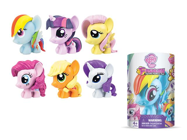 Пони-мялка My Little Pony52024-0000012-02My Little Pony поможет маленьким девочкам в непринужденной игровой форме развить мелкую моторику ручек! Забавные пони доставят не только массу удовольствия от игры с ними, но и послужат полезным тренажером для пальчиков рук вашего ребенка.