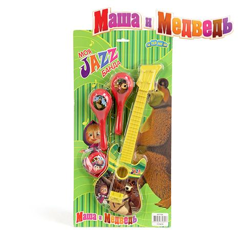 Набор музыкальных инструментов Маша и Медведь2067C,386605Музыкальные инструменты Маша и Медведь GT7708 - это увлекательная игрушка для детей старше 3 лет. Они выполнены в яркой цветовой гамме из высококачественных материалов, которые не навредят вашему ребенку. В наборе есть 4 инструмента, которые украшены изображением героев известного мультфильма «Маша и Медведь». Игрушка поможет развить у ребенка слуховое и цветовое восприятие, моторику рук и память.