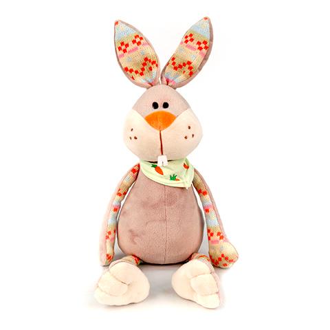 Кролик Терешка, 30 смMA5332,30Мягкая игрушка Кролик Терешка с платком сидячий ,обязательно понравится и детям, и взрослым. У Кролика мягкая серая шерстка, которую так приятно трогать руками. Она не вызывает аллергию и раздражение у детишек, так как сделана из качественных и безвредных материалов. У Кролика большие уши, на шее повязан платок. Носик оранжевого цвета приведет в восторг любого ребенка.