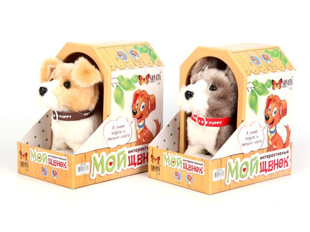 Собака интерактивная Шнауцер, цвет: белый, бежевый9307-15,9307-16Собака Шнауцер- это милый домашний питомец, который понравится любому малышу. Игрушка изготовлена из мягких, безвредных для ребенка материалов и очень приятная на ощупь. Собака умеет лаять и двигаться, совсем как настоящая. Играя с таким животным,ребенок развивает координацию движений, образное мышление, воображение и любознательность.