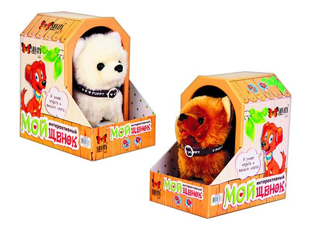 Собака интерактивная Чау-чау, цвет: белый9307-6WУниверсальная Собака Чау-чау, работающая на батарейках,станет отличным подарком вашему малышу. Такая игрушка изготовлена по новейшим технологиям с учетом всех пожеланий потребителей. Мягкая текстиль с пушистым ворсом идеально имитирует внешний вид настоящего песика такой породы. Вмонтированная внутренняя системы обеспечивает функциональность игрушки. Это и лай, и бег – все умеет такая умная игрушка.