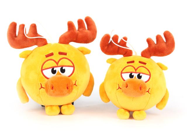 Мягкая игрушка Смешарики Лосяш, 10 смK25206F1Дети очень любят мультфильм Смешарики. Если хотите малышу сделать незабываемый подарок, непременно подарите этого говорящего Лосяша.