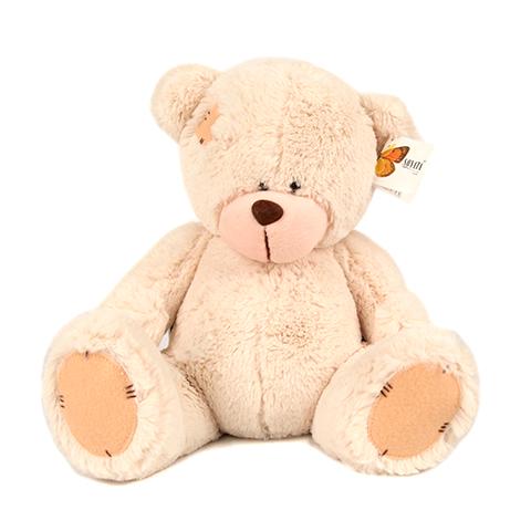 Медведь, 30 смGT6866,MA3385,30BОчаровательный мишка с приятной шерсткой, черными глазами-бусинками и большими мягкими лапками станет замечательным подарком для вашего ребенка.Игрушка подходит для детей любого возраста - материал, использованный при изготовлении, абсолютно безвреден для детей.