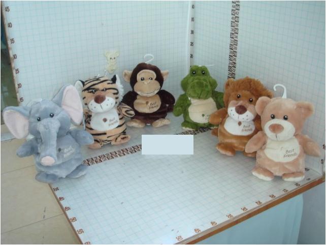 Зоопарк Джунгли, со звуком, 22 смGT6912В серии Джунгли представлены милые и симпатичные зверушки:слоненок,тигренок,обезьянка,крокодил,львенок и медвежонок,которые понравятся любому ребенку.Так же каждая игрушка имеет озвучку.