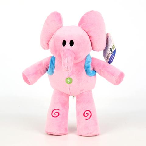 Слоник Элли с озвучкойK22171BPocoyo Слоник Элли 25 см GT6446 - это забавная игрушка с озвучкой, которая создана для детей старше 3-х лет. Она изготовлена из качественных материалов, которые абсолютно безвредны для ребенка. Розовый слоник обязательно понравится вашему малышу. Игрушка способствует развитию воображения и тактильной чувствительности у детей.