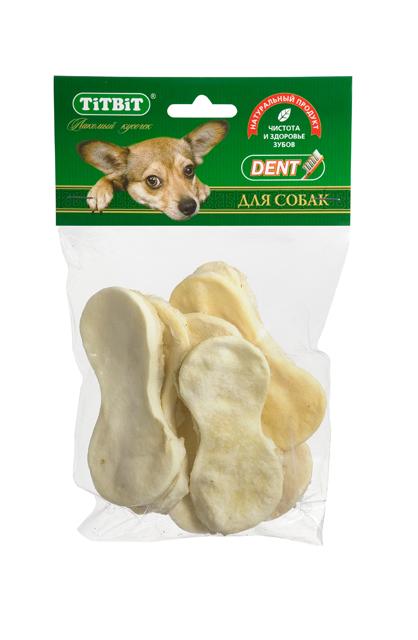 Лакомство для собак Titbit, говяжьи чипсы2041Высушенная говяжья кожа в форме чипсов. Упаковка содержит 6-8 штук. Благодаря большому содержанию аминокислот и коллагена положительно воздействует на хрящевую ткань, состояние кожи и шерсти собаки. Способствует снятию зубного камня. Хорошо развивает челюсти. Состав: Высушенная говяжья кожа.