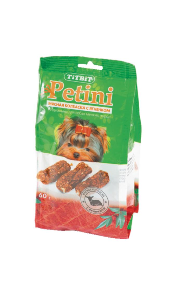 Лакомство для собак Titbit Petini, колбаски, с ягненком, 60 г2636Titbit Petini - это вкусное и полезное лакомство для собак. Мясо ягненка – это источник гипоаллергенного, высококачественного протеина животного происхождения, который легко усваивается и необходим при заживлении ран и переломах костей. Аромат баранины очень нравится собакам, поэтому лакомство удобно применять для дрессуры. Вещества, такие как цинк, витамин В12 и железо (2,6 мг/100г), благотворно влияют на умственную деятельность животного. В мясе ягненка содержатся так же витамин РР (5,4 мг/100г), который участвует в усвоении белков, жиров и углеводов, поступающих извне. Состав: мясо ягненка и мясные субпродукты (не менее 92%), кукуруза, минеральные вещества Товар сертифицирован.