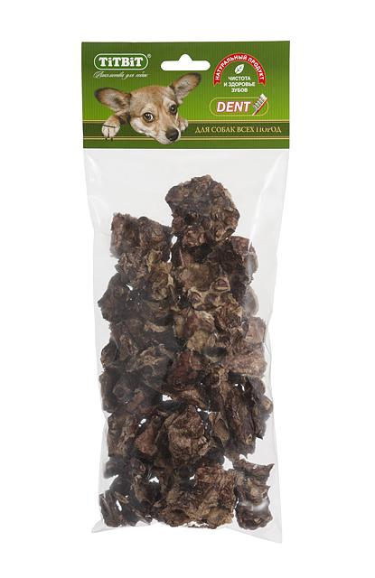Лакомство для собак Titbit, печеное легкое319380Запеченные кусочки высушенного говяжьего легкого. Высокое содержание микроэлементов и соединительной ткани дополняет удовольствие собаки от нежного лакомства. Легкие очень вкусны, малокалорийны и замечательно усваиваются организмом. Легкие содержат практически такой же набор витаминов, как и мясо, но зато гораздо менее жирные. Оказывают положительное воздействие на состояние кожи, шерсти и общий обмен веществ. Кусочки очень удобно использовать в качестве поощрения при дрессуре, и просто на прогулках. Для собак всех пород и возрастов. Особенно рекомендуется для собак с неполной зубной формулой и возрастными изменениями зубочелюстного аполипропиленовый пакетарата. Благодаря вкусовым качествам и воздушной структуре является одним из самых любимых лакомств для наших четвероногих друзей. Состав: Говяжье легкое.
