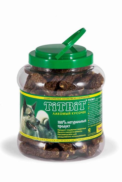 Лакомство для собак Titbit, мини колбаски, 4,3 л4545Лакомство для собак Titbit - это 100% натуральный продукт с пониженным содержанием жира. Произведено по уникальной технологии Titbit, которая позволяет сохранить структуру живой ткани, необходимой для зубов собаки. Содержат полноценные белки, аминокислоты и минеральные вещества. Способствую профилактике дисбактериоза и образованию зубного камня. Отличное средство для укрепления десны и очистки зубов от налета. Прекрасно сочетается с любым типом кормления. Состав: мясо и мясные субпродукты (более 85%), кукуруза, минеральные вещества. Товар сертифицирован.