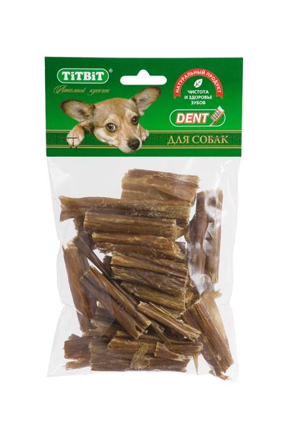 Лакомство для собак Titbit, кишки говяжьи, хворост, 25 г5279Лакомство для собак Titbit - это высушенные на плоскости пластинки говяжьих кишок. Лакомство богато витаминами и ферментами микрофлоры кишечника крупного рогатого скота. Имеет большую энергетическую ценность из-за повышенного содержания жира. Богаты перевариваемыми протеинами, которые содержат все незаменимые аминокислоты и потому усваиваются на 90-95%. Содержат минеральные вещества в большем количестве, чем все остальные продукты (в том числе кальций, магний и фосфор), жирорастворимые витамины, а также водорастворимые витамины. Очищает зубы у мелких пород собак, продукт полезен для стимуляции пищеварения. Состав: высушенные говяжьи кишки. Товар сертифицирован.
