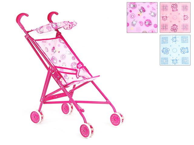 Коляска Прогулочная металлическая с козырьком9302S,G004-H36015Игрушечная коляска – это очень полезное приобретение, ведь эта игрушка позволит гулять с куклой по улицам, а значит, научит будущую маму заботиться о ребенке. Представленная коляска подходит для самых маленьких, имеет металлическую основу и качественный текстиль.