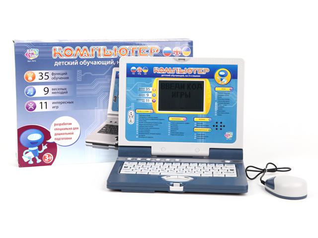 Компьютер Joy Toy обучающийA848-H05039Век компьютерных технологий давно наступил, и далее технологии будут лишь развиваться. Так что свой первый собственный компьютер ребенок может получить в самом раннем возрасте. Например, такой обучающий компьютер от ТМ «JOY TOY». Он имеет 35 функций, 9 мелодий, 21 игра. Работает с помощью трех батареек вида АА 1,5V, которые входят в комплект. Размер коробки: 41*25*4 см, вес: 1103 г.